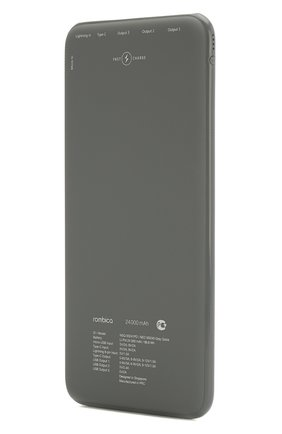 Мужского портативный аккумулятор neo ns240 quick ROMBICA серого цвета, арт. NSQ-00241PD | Фото 2