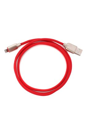 Мужской кабель digital ib-05 mfi ROMBICA красного цвета, арт. CB-IB05M | Фото 2