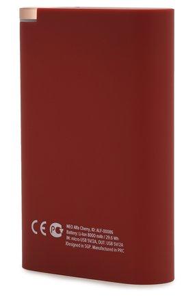 Мужского портативный аккумулятор neo alfa ROMBICA красного цвета, арт. ALF-00086 | Фото 2
