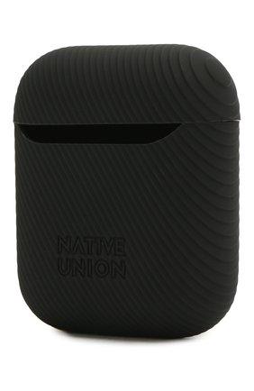 Мужской чехол для airpods NATIVE UNION черного цвета, арт. APCSE-CRVE-BLK | Фото 2