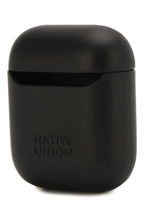 Мужской чехол для airpods NATIVE UNION черного цвета, арт. APCSE-MARQ-BLK | Фото 2