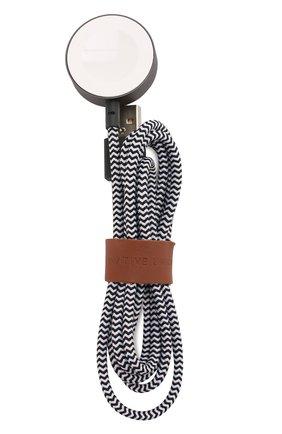 Мужской кабель для apple watch, 1.2m NATIVE UNION черно-белого цвета, арт. BELT-AW-ZEB | Фото 1