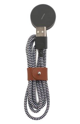Мужской кабель для apple watch, 1.2m NATIVE UNION черно-белого цвета, арт. BELT-AW-ZEB | Фото 2
