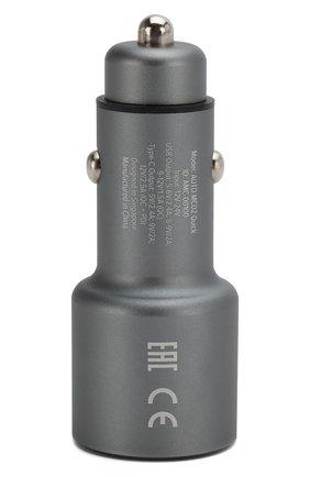 Мужского автомобильное зарядное устройство ROMBICA серого цвета, арт. AMC-00100 | Фото 2