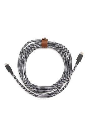 Мужской кабель lightning/usb-c, 1.2m NATIVE UNION черно-белого цвета, арт. BELT-KV-CL-ZEB-3 | Фото 2