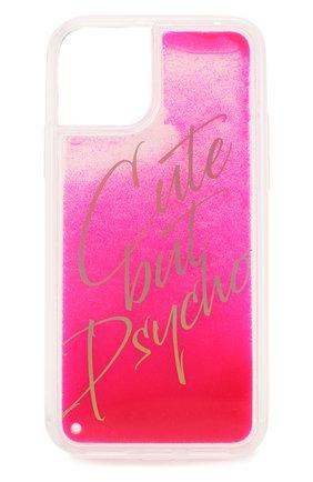Мужской чехол для iphone 11 pro BENJAMINS розового цвета, арт. BJ1958-LIQCUTE | Фото 1