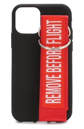 Мужской чехол для iphone 11 pro BENJAMINS черного цвета, арт. BJ1958-STRAP02 | Фото 1