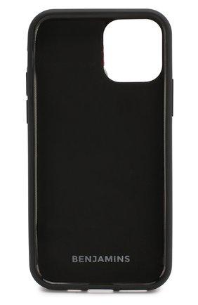 Мужской чехол для iphone 11 pro BENJAMINS черного цвета, арт. BJ1958-STRAP02 | Фото 2