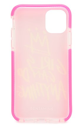 Мужской чехол для iphone 11 BENJAMINS розового цвета, арт. BJ1961-3DGIRL | Фото 2