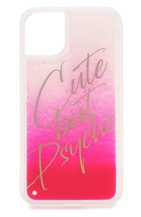 Мужской чехол для iphone 11 BENJAMINS розового цвета, арт. BJ1961-LIQCUTE | Фото 1