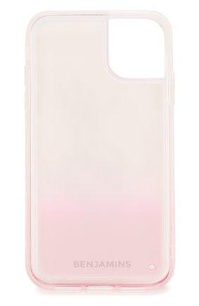 Мужской чехол для iphone 11 BENJAMINS розового цвета, арт. BJ1961-LIQCUTE | Фото 2