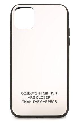 Мужской чехол для iphone 11 BENJAMINS белого цвета, арт. BJ1961-PLTMIRR0R | Фото 1