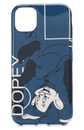 Мужской чехол для iphone 11 BENJAMINS синего цвета, арт. ICE1961-D0PEY | Фото 1