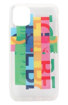Мужской чехол для iphone 11 BENJAMINS разноцветного цвета, арт. ICE1961-RAINB0W | Фото 1