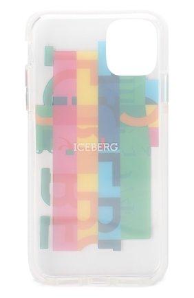 Мужской чехол для iphone 11 BENJAMINS разноцветного цвета, арт. ICE1961-RAINB0W | Фото 2