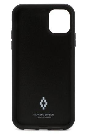 Мужской чехол для iphone 11 BENJAMINS разноцветного цвета, арт. M1961-3DCR0SS | Фото 2