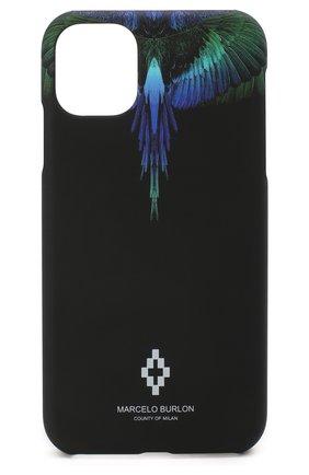 Мужской чехол для iphone 11 BENJAMINS разноцветного цвета, арт. M1961-BLUEWINGS | Фото 1