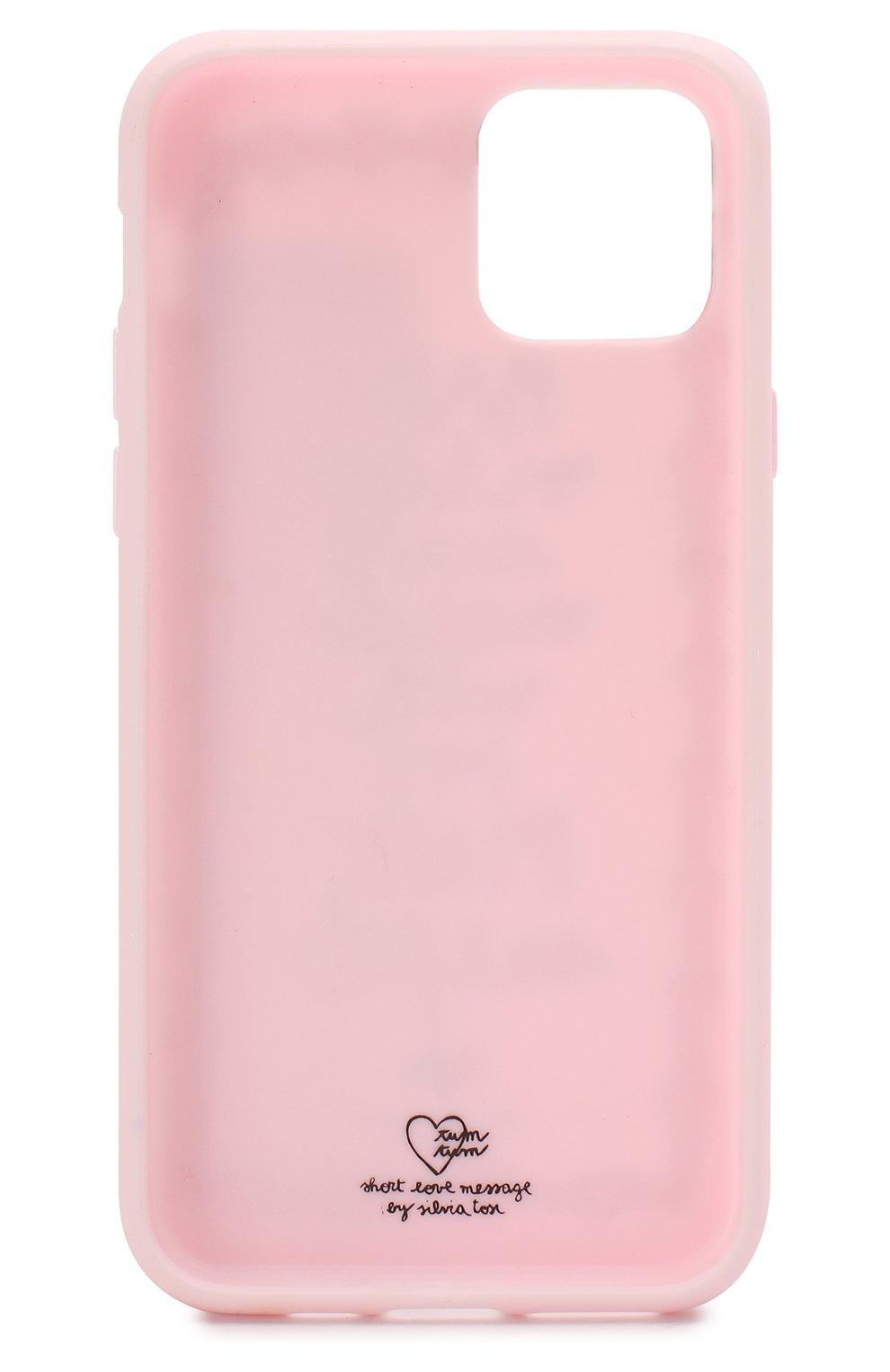 Мужской чехол для iphone 11 pro BENJAMINS розового цвета, арт. ST1958-3DPINK   Фото 2