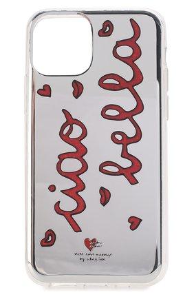Мужской чехол для iphone 11 pro BENJAMINS разноцветного цвета, арт. ST1958-GLBELLA | Фото 1