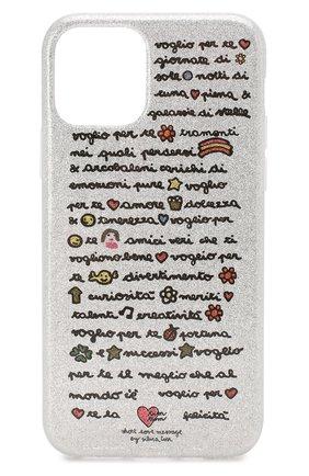 Мужской чехол для iphone 11 pro BENJAMINS серебряного цвета, арт. ST1958-GLV0GLI0 | Фото 1