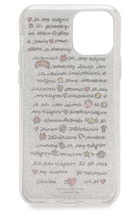Мужской чехол для iphone 11 pro BENJAMINS серебряного цвета, арт. ST1958-GLV0GLI0 | Фото 2