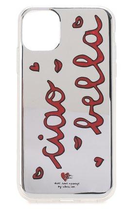 Мужской чехол для iphone 11 BENJAMINS разноцветного цвета, арт. ST1961-GLBELLA | Фото 1