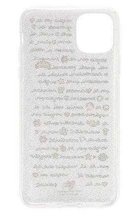 Мужской чехол для iphone 11 pro max BENJAMINS серебряного цвета, арт. ST1965-GLV0GLI0 | Фото 2