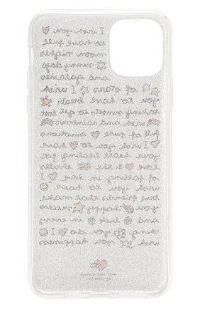 Мужской чехол для iphone 11 pro max BENJAMINS серебряного цвета, арт. ST1965-GLWISH | Фото 2