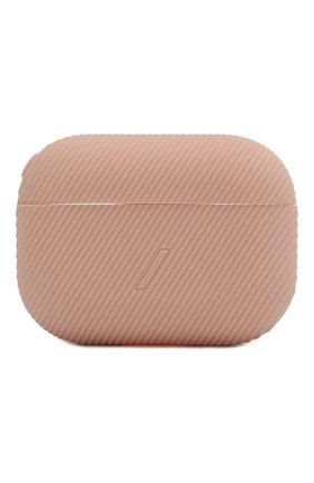 Мужской чехол для airpods pro NATIVE UNION розового цвета, арт. APPRO-CRVE-ROS | Фото 1