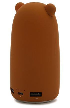 Мужского портативный аккумулятор neo teddy ROMBICA коричневого цвета, арт. NB-001T | Фото 2