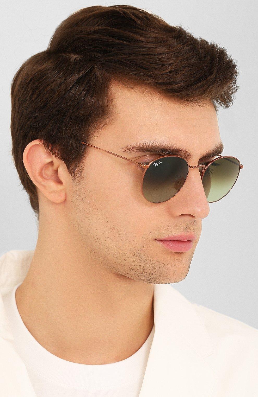 Женские солнцезащитные очки RAY-BAN темно-зеленого цвета, арт. 3447-9002A6 | Фото 3
