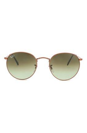 Женские солнцезащитные очки RAY-BAN темно-зеленого цвета, арт. 3447-9002A6 | Фото 4