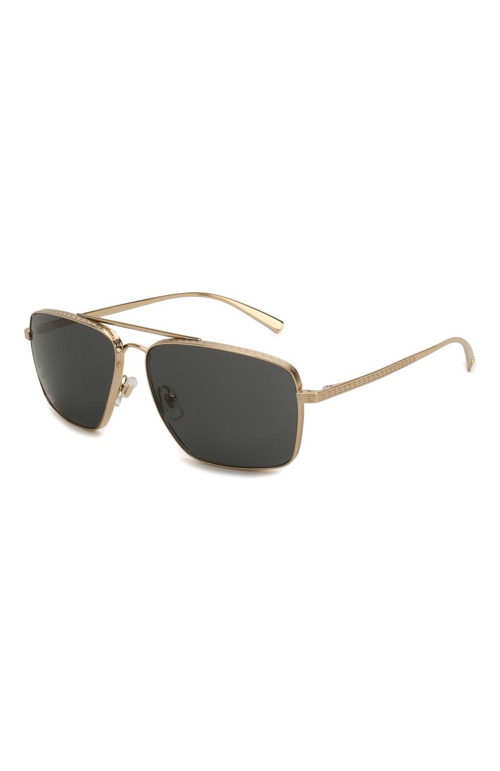 Женские солнцезащитные очки VERSACE черного цвета, арт. 2216-100287 | Фото 1
