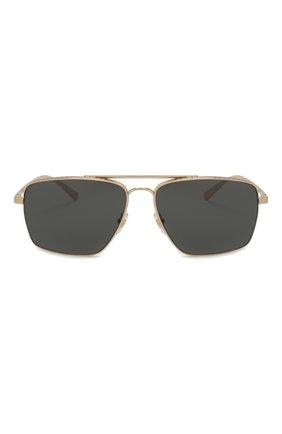 Женские солнцезащитные очки VERSACE черного цвета, арт. 2216-100287 | Фото 4