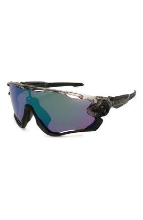 Женские солнцезащитные очки OAKLEY черного цвета, арт. 9290-929046   Фото 1