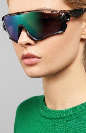 Женские солнцезащитные очки OAKLEY черного цвета, арт. 9290-929046   Фото 2