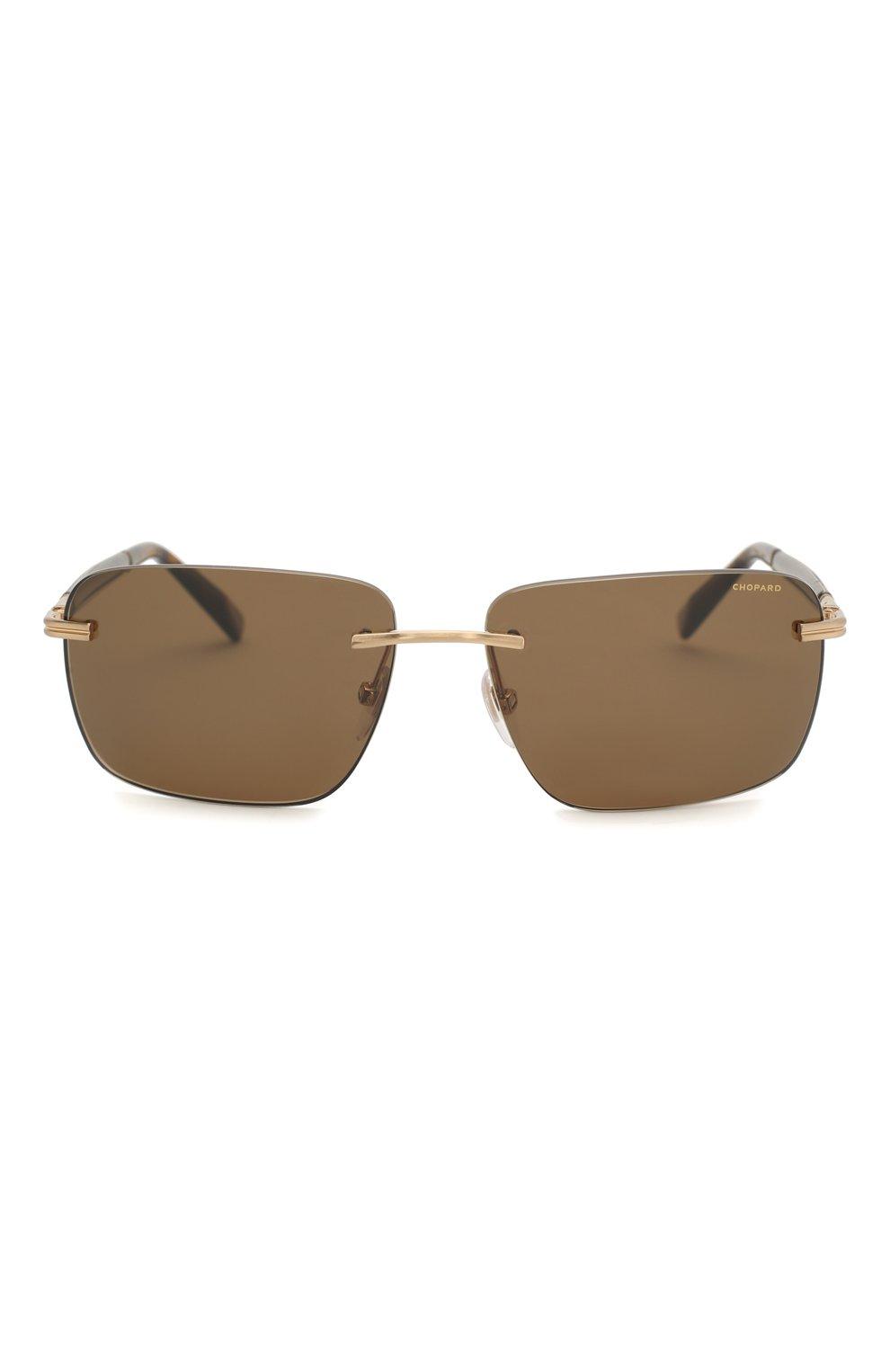 Женские солнцезащитные очки CHOPARD коричневого цвета, арт. C27 H18P | Фото 4