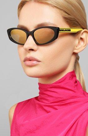 Женские солнцезащитные очки MARC JACOBS (THE) желтого цвета, арт. MARC 356 40G | Фото 2