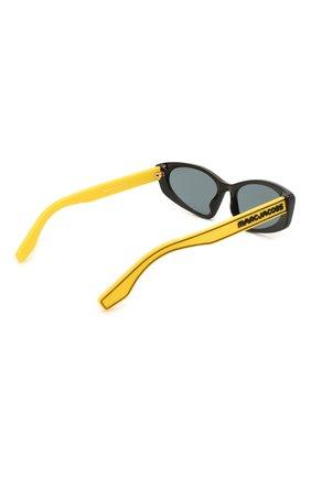 Женские солнцезащитные очки MARC JACOBS (THE) желтого цвета, арт. MARC 356 40G | Фото 4
