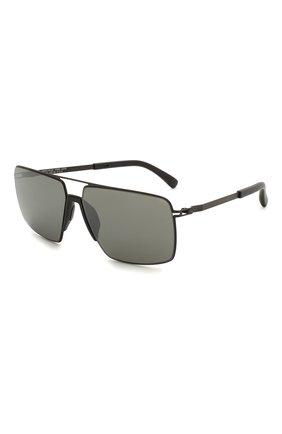 Женские солнцезащитные очки MYKITA MYLON черного цвета, арт. L0TUS/243 | Фото 1