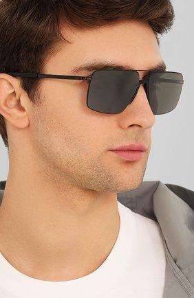 Женские солнцезащитные очки MYKITA MYLON черного цвета, арт. L0TUS/243 | Фото 3
