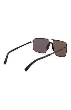 Женские солнцезащитные очки MYKITA MYLON черного цвета, арт. L0TUS/243 | Фото 5
