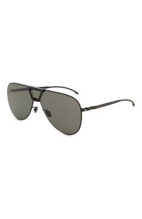 Мужские солнцезащитные очки MYKITA MYLON черного цвета, арт. PEPPER/243 | Фото 1