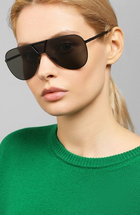 Мужские солнцезащитные очки MYKITA MYLON черного цвета, арт. PEPPER/243 | Фото 2