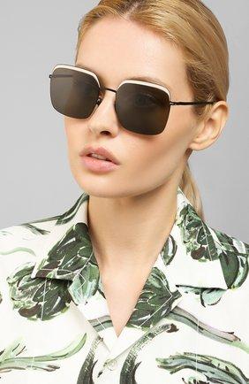 Женские солнцезащитные очки MYKITA черного цвета, арт. DALIA/404 | Фото 2 (Тип очков: С/з)