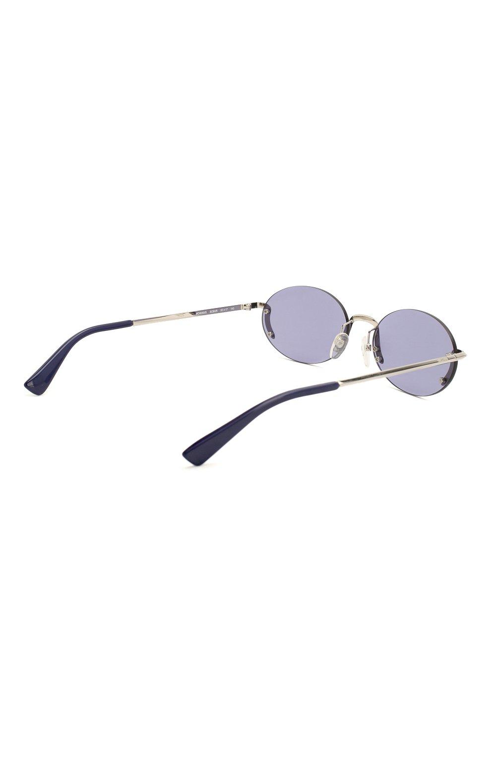 Женские солнцезащитные очки MOSCHINO синего цвета, арт. M0S055 SCB | Фото 5