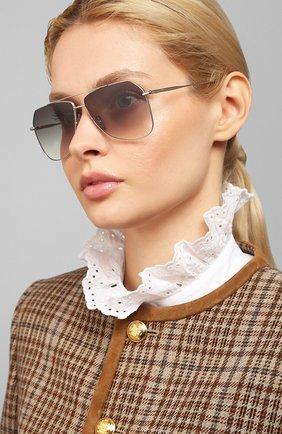 Мужские солнцезащитные очки EQUE.M серебряного цвета, арт. NAVIGATI0N/SS | Фото 2