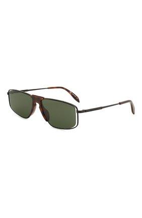 Женские солнцезащитные очки ALEXANDER MCQUEEN черного цвета, арт. AM0198 002 | Фото 1