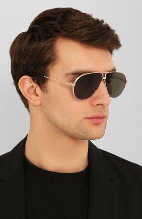 Мужские солнцезащитные очки TOM FORD черного цвета, арт. TF734-H 28N | Фото 2