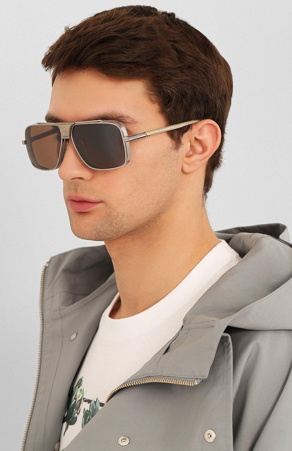 Мужские солнцезащитные очки DITA серого цвета, арт. EPLX.5/01   Фото 2